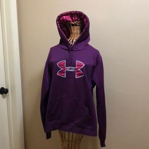 Under Armour Purple Pullover Hoodie